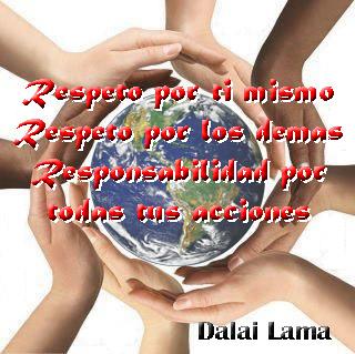 Las tres R, Dalai Lama